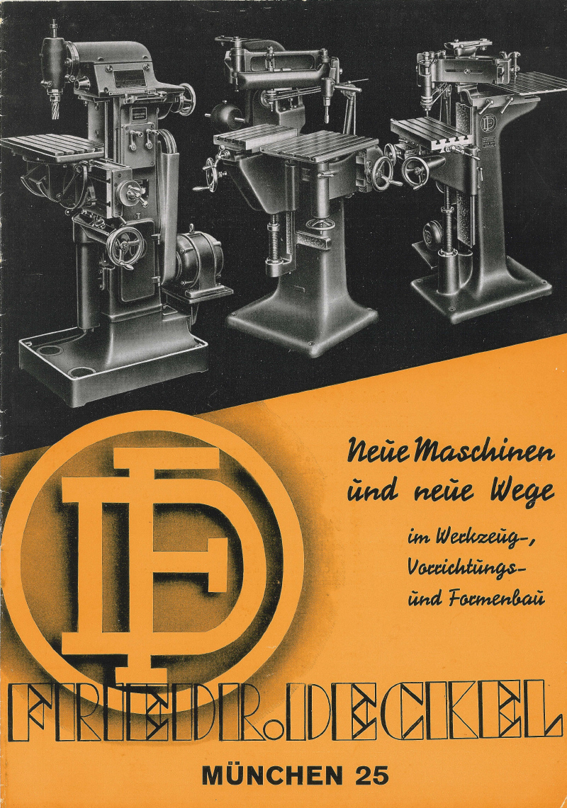 Chazzcreations Friedrich Deckel Germany Connections