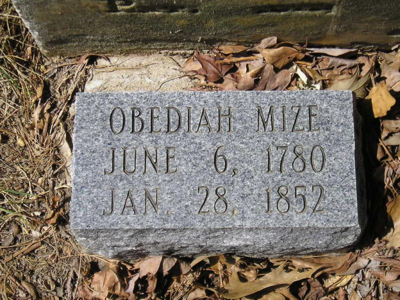 Ford Franklin Tn >> ChazzCreations - Jeremiah Mize MIZE ~ OLDHAM ~ SWOPE ~ COCKRELL Mise ~ Myes ~ Mize Per John ...